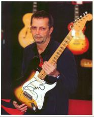 Eric Clapton Signed 8X10 Photo Epperson Real COA & JSA #Y52321