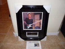ERIC CLAPTON Signed Autographed 17X24 Shadow Matted Framed  Photo PSA Certified