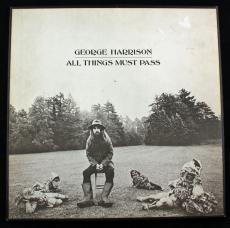 Eric Clapton Signed Autographed George Harrison Album PSA/DNA