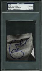 Eric Clapton Signed Cut Autograph Graded Mint 9! PSA/DNA Slabbed