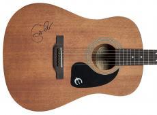 Eric Clapton Signed Epiphone Acoustic Guitar PSA/DNA #Z01737