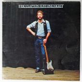 Eric Clapton Signed 'Just One Night' Album Cover PSA/DNA #AA01978