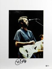 Eric Clapton Signed Mounted 8x11 Photo Autographed BAS #A06774