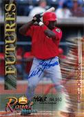 Eric Johnson autographed Baseball Card (Minor League) 2000 Royal Rookies Futures Certified #4