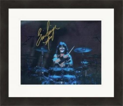 Eric Singer autographed 8x10 photo (Kiss) #SC6 Matted & Framed