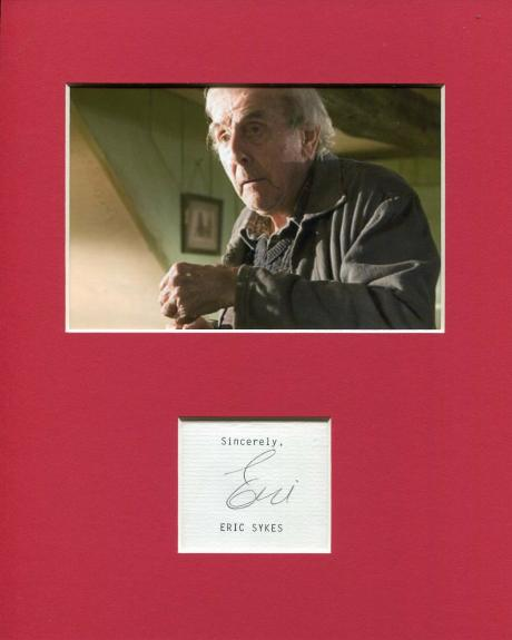 Eric Sykes Harry Potter and the Goblet of Fire Signed Autograph Photo Display