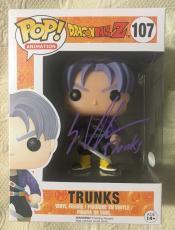 Eric Vale Signed Autographed Trunks Funko Pop Dragon Ball Z JSA COA 4