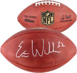 Eric Weddle Autographed NFL Game Football