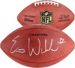 Eric Weddle Autographed NFL Game Model Football