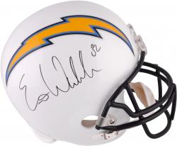 Eric Weddle San Diego Chargers Autographed F/S Replica Helmet