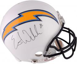 Eric Weddle San Diego Chargers Autographed Proline Helmet