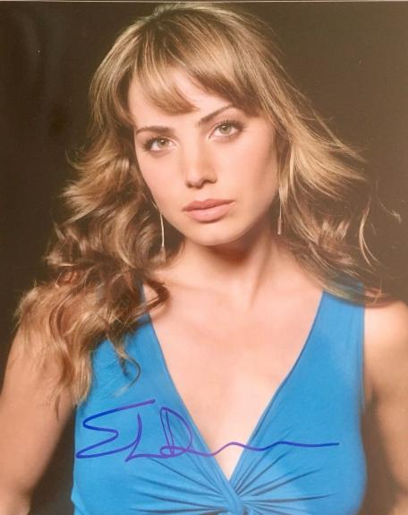 ERICA DURANCE (Smallville) signed authentic 8x10 photo #2