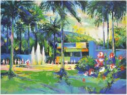 Erickson Tennis Venue (horizontal) Original (artist Signed)