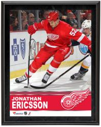 "Jonathan Ericsson Detroit Red Wings Sublimated 10"" x 13"" Plaque - Mounted Memories"