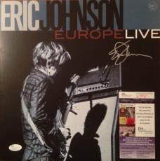 "ERIK JOHNSON signed ""Europe Live"" 33RPM 180 gm Double Album Vinyl- JSA #N15737"
