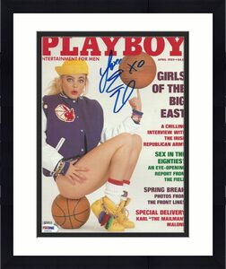 Erika Eleniak Signed April 1989 Playboy Magazine PSA/DNA COA Baywatch Autograph