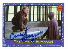 Ernest Borgnine autographed card (The Black Hole) 1979 Topps #32