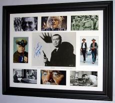 Ernest Borgnine Autographed Signed Framed Photo PSA/DNA