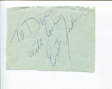 Ernestine Jackson Broadway Tony Nominee Raisin Guys & Dolls Signed Autograph