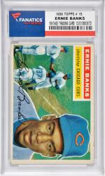 Ernie Banks Chicago Cubs 1956 Topps #15 Card