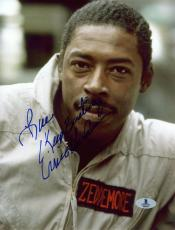 "Ernie Hudson Autographed 8"" x 10"" Ghostbusters Photograph - Beckett COA"
