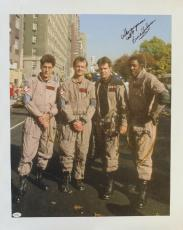 Ernie Hudson Signed Ghostbusters Autographed 21x26 Giclee Canvas JSA #A41359