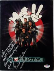 Ernie Hudson Signed Quote Ghostbusters II Official Movie Program PSA Y48846 Auto