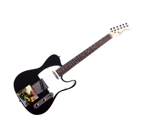 Erykah Badu Autographed Live cd lp Guitar UACC RD AFTAL RACC TS