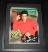 Esai Morales Signed Framed 8x10 Photo Poster La Bamba NYPD Blue Caprica
