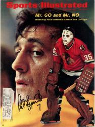 ESPOSITO, PHIL AUTO (3/29/1971) SPORTS ILLUSTRATED - Mounted Memories