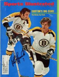 Phil Esposito Boston Bruins Autographed Boston's Big Guns Sports Illustrated Magazine