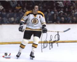 "Phil Esposito Boston Bruins Autographed 8"" x 10"" White Horizontal Photograph"