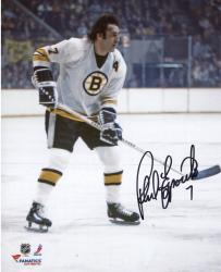 "Phil Esposito Boston Bruins Autographed 8"" x 10"" White Vertical Photograph"