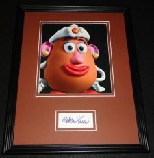Estelle Harris Signed Framed 11x14 Photo Display AW Toy Story Mrs Potato Head