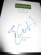 Ethan Hawke Signed Autograph Boyhood Movie Script In Person Coa Auto Full Script