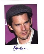 Ethan Hawke-signed photo - JSA