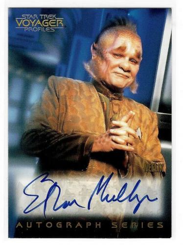 Ethan Phillips As Neelix Star Trek Voyager Autograph Card A9