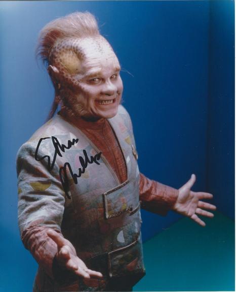 Ethan Phillips Signed Star Trek Voyager Neelix 8x10 Photo #5