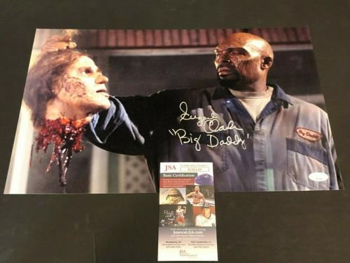 Eugene Clark Land of the Dead Big Daddy Rare Large Signed 11x17 Autograph Photo