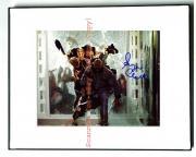 EUGENE CLARK Signed LAND OF DEAD Autographed Photo UACC    AFTAL