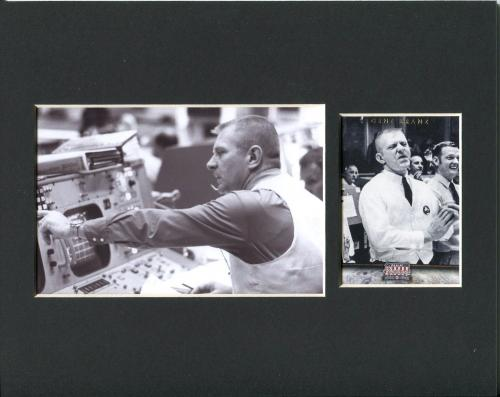 Eugene Gene Kranz NASA Flight Director Space Apollo 13 Rare Photo Card Display