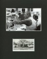 Eugene Gene Kranz NASA Flight Director Space Signed Autograph Rare Photo Display