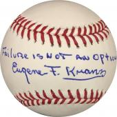 Eugene Kranz Apollo 13 Flight Director Autographed Baseball OMLB JSA T77613