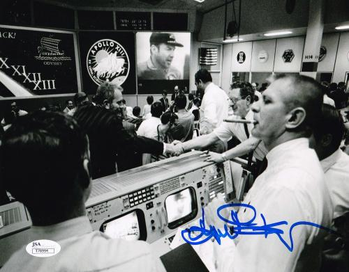 Eugene Kranz Apollo 13 Flight Director NASA Autographed Signed 8x10 Photo JSA 2