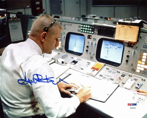 Eugene Kranz NASA Flight Director Signed 8x10 Photo PSA/DNA #Z92201