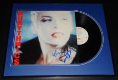 Eurythmics Signed Framed 1985 Be Yourself Tonight Record Album Display B