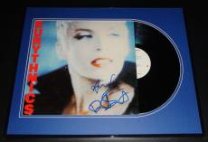 Eurythmics Signed Framed 1985 Be Yourself Tonight Record Album Display