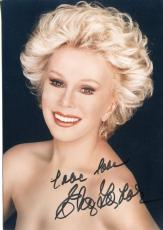Eva Gabor Was In Green Acres & Walt Disney Voice Actress Signed Photo Autograph