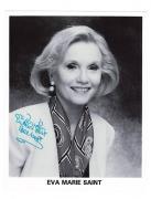 Eva Marie Saint-signed photo