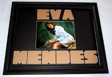 EVA MENDES Autographed CUSTOM MATTED Signed Photo Display